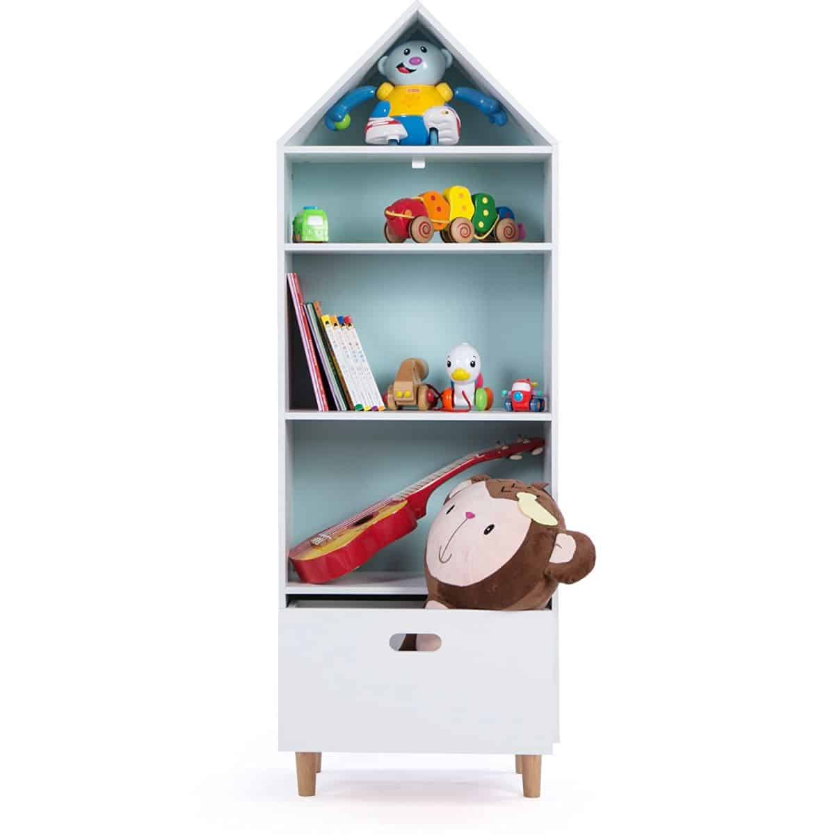 10 Playful Bookcases For Kids