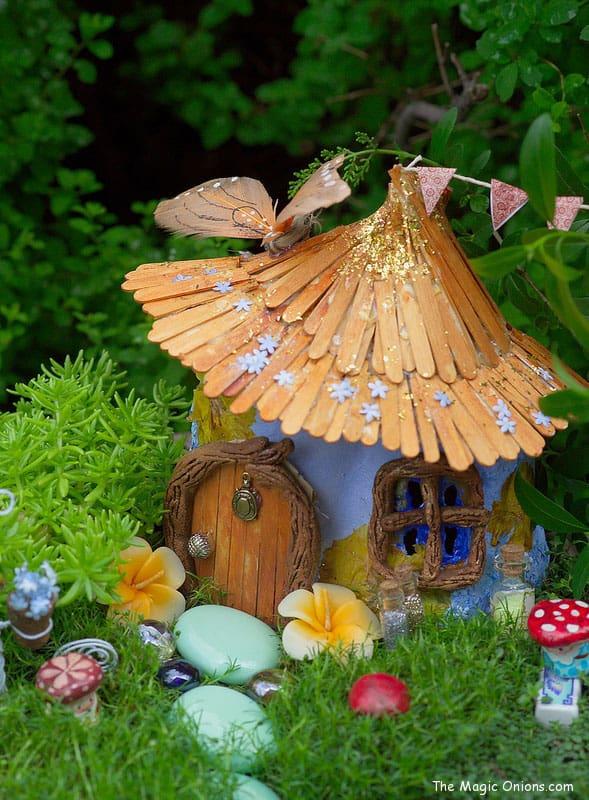 How To Make A Fairy House Cake