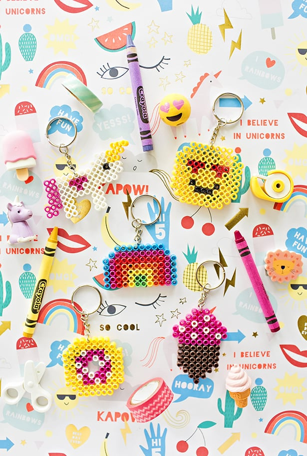 how to make cute keychains