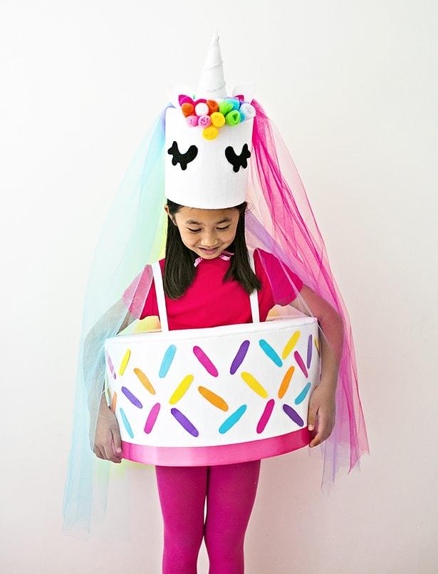 Cool Diy Unicorn Cake Costume Personalised Birthday Cards Xaembasilily Jamesorg