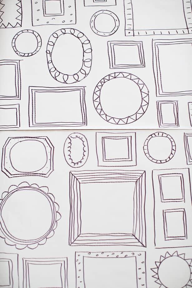 Children S Book Cover Wall Art ~ Easy diy frames wallpaper