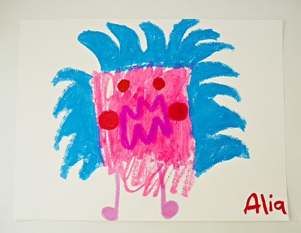 Scribble Drawing For Kids : Make scribble monsters easy drawing prompt for kids