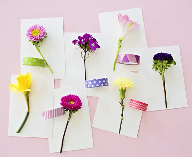 pretty 3d flower handmade cards