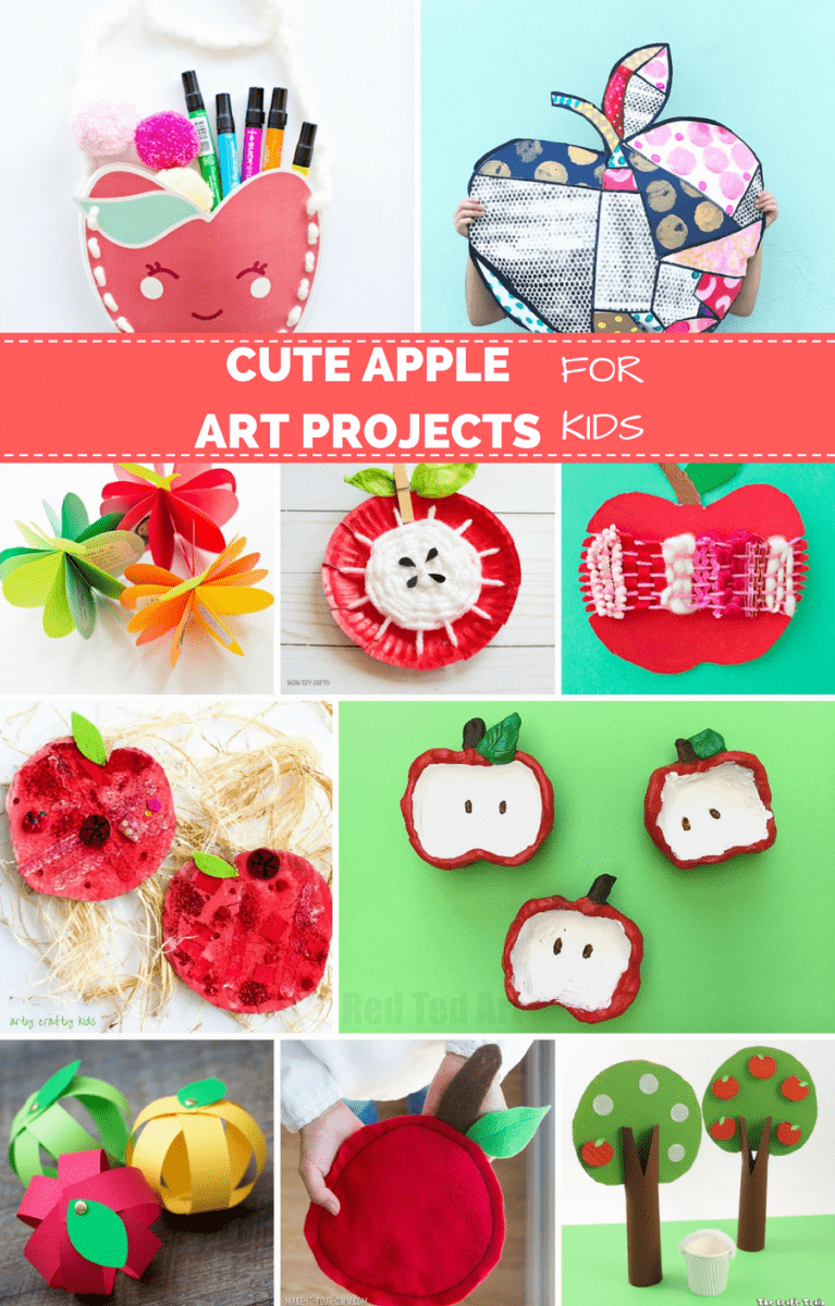 15 Sweet Apple Art Projects For Kids