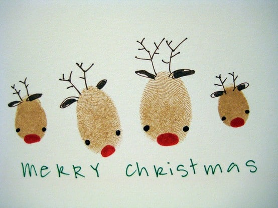Ideas For Christmas Cards Handmade.8 Crafty And Cute Kid Made Christmas Cards