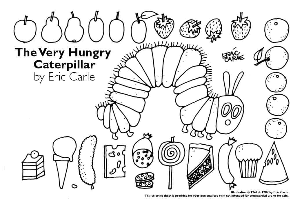 image about The Very Hungry Caterpillar Printable Book named 8 Lovable CRAFTS Centered Upon THE Incredibly HUNGRY CATERPILLAR