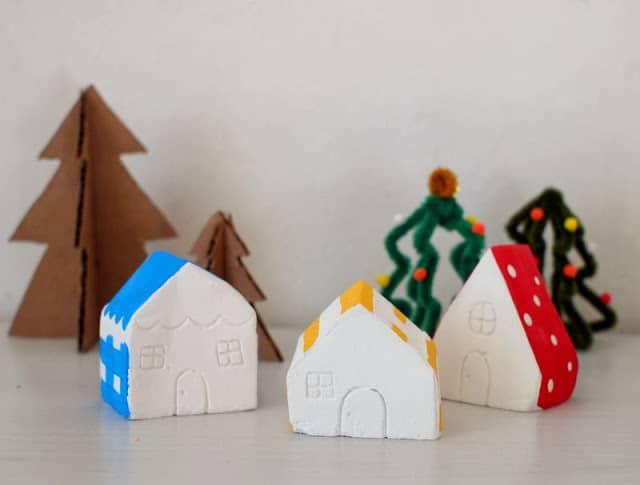 Plaster Of Paris Christmas Crafts