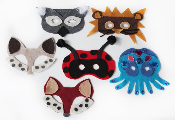 cat mask via kids stuff world this simple mask made of glitter scrap book paper is the cats meow - Kids Halloween Masks