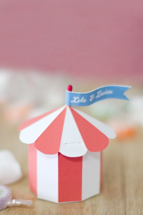 12 Adorable Free Printable Favor Boxes For Kids Parties