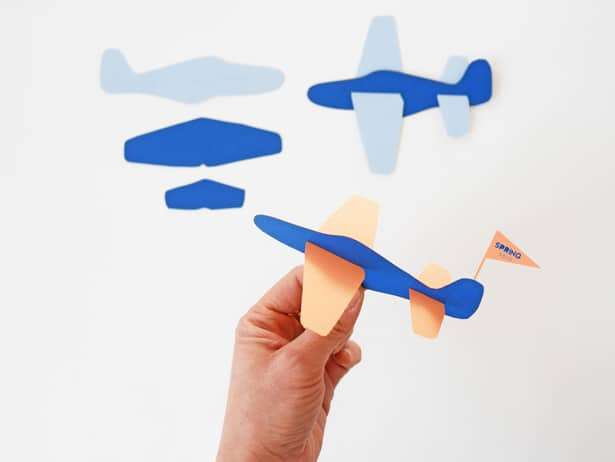 photo regarding Paper Airplane Printable identify Do it yourself PAPER Airplane TOY (WITH Totally free TEMPLATE)