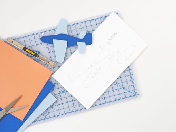 Paper Plane Template Step By Step Instructions On How To Make A