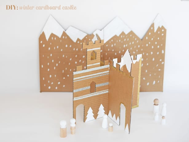 MAKE AN EASY WINTER CARDBOARD CASTLE Cardboard House Modern Design on modern metal house, modern box house, modern clay house, modern bird house, modern tin house, modern house design, modern house phones, modern wood panel house, modern stone house, modern dirt house, modern concrete house, modern cantilever house, modern brick house, modern bamboo house, modern canvas house, modern cement house, modern wooden house, modern pet house, modern cinder block house, modern dog house,