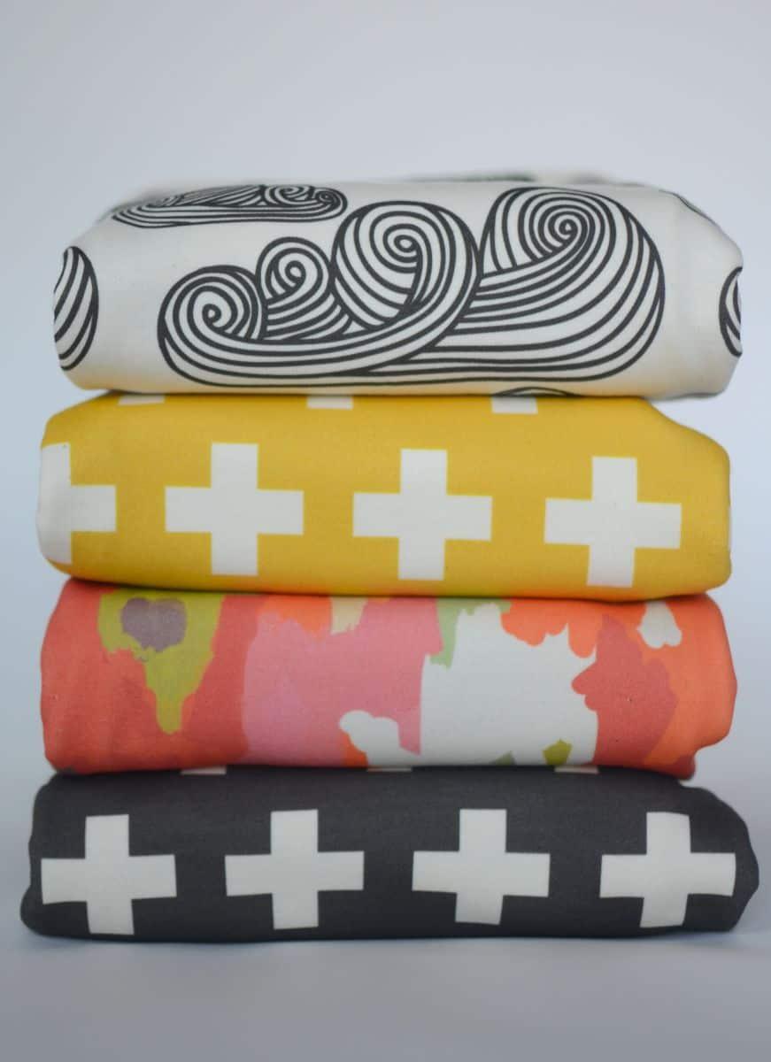 hello wonderful   modern and hip baby blankets -