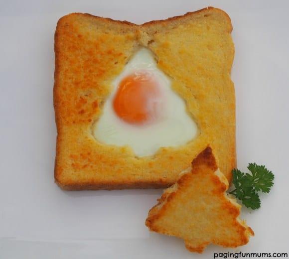 Christmas Egg Toast Via Paging Fun Mums
