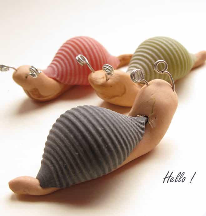 Kids Craft Making A Slug