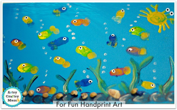 Cool Drawing Fish Print Out For Kids