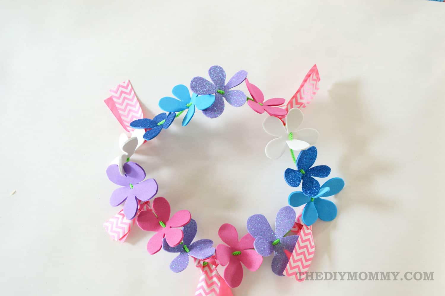 10 ways to make a pretty floral crown izmirmasajfo Images