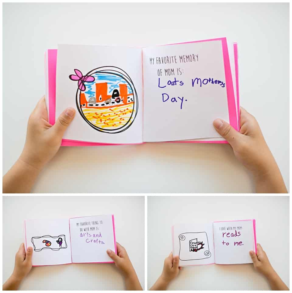 kid made mothers day book materials - Free Printable Books For Kids
