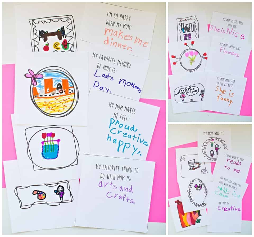 kid made free printable mothers day book - Free Printable Books For Kids