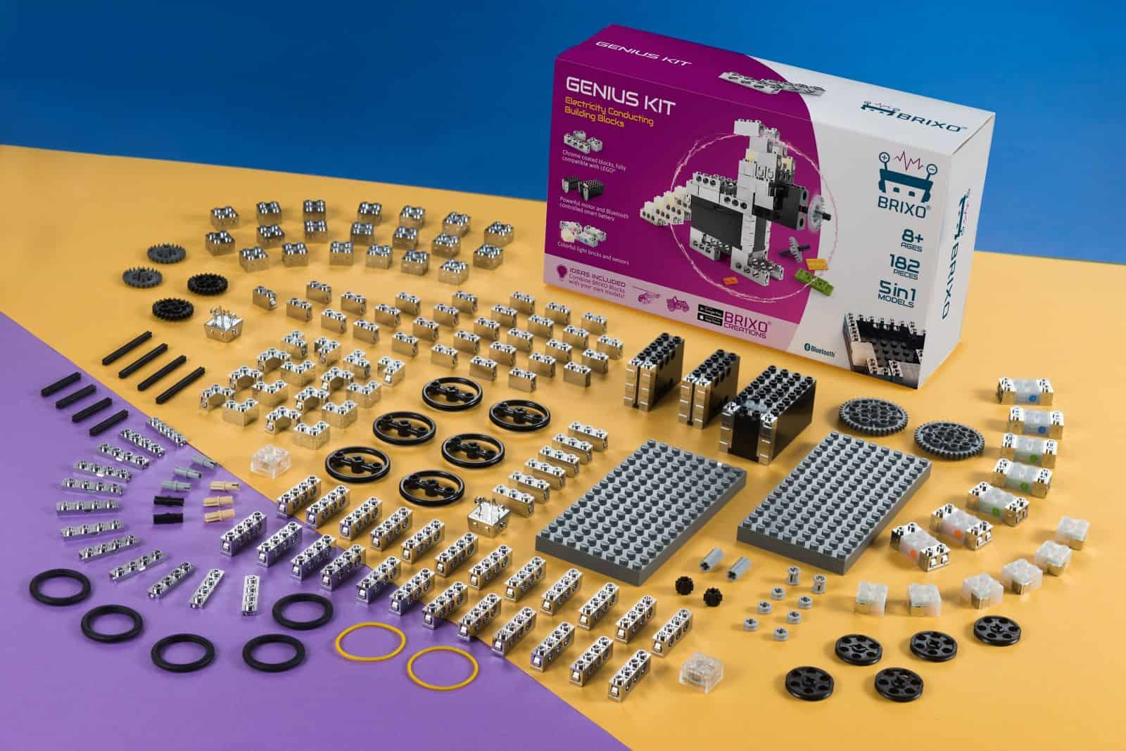 Brixo Stem Toys Electric Building Bricks Circuit Kits For Kids Give Access To The Creations And Control Apps What Your May Build Invent Are Endless Sensors React Sound Light