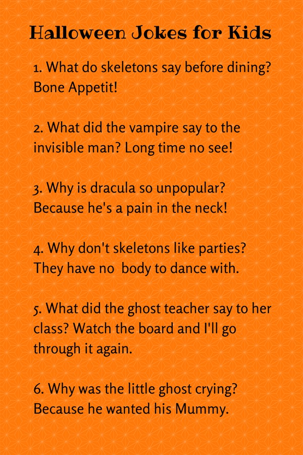 hello, Wonderful - CUTE HALLOWEEN JOKES FOR KIDS