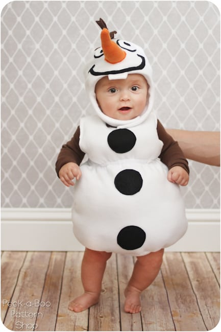 every kids favorite snowman which will go well with all the elsa and anna costumes that are bound to be out trick or treating on halloween - Baby Cow Costume Halloween