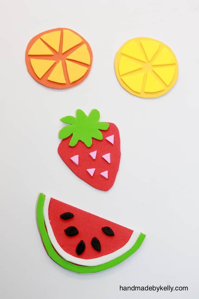 12 Fun And Colorful Fruit Crafts