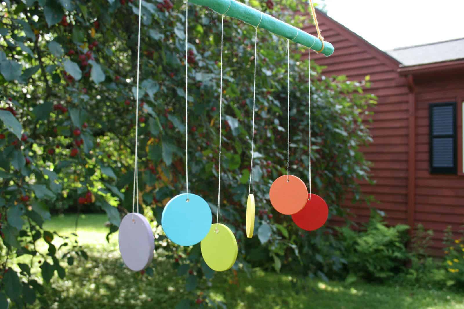 5 creative diy wind chimes for Easy to make wind chimes