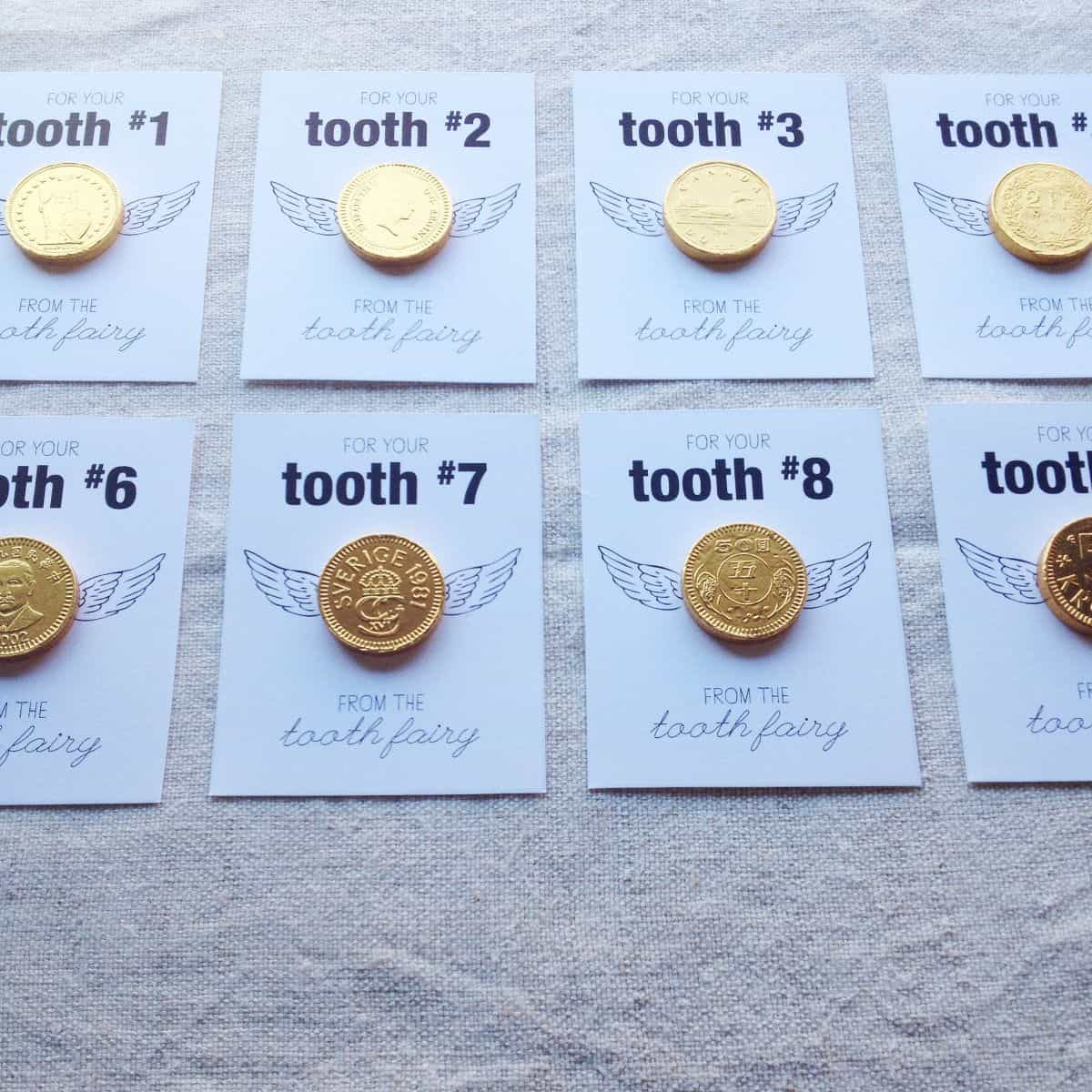 graphic regarding Printable Gold Coins known as GOLD COIN Teeth FAIRY Absolutely free PRINTABLE