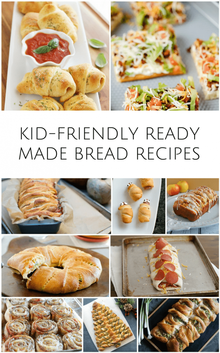 10 Kid Friendly Recipes Using Ready Made Bread Dough
