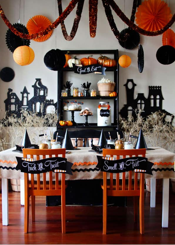 Souvent hello, Wonderful - 6 SPOOKY AND SWEET HALLOWEEN DESSERT TABLES BT49