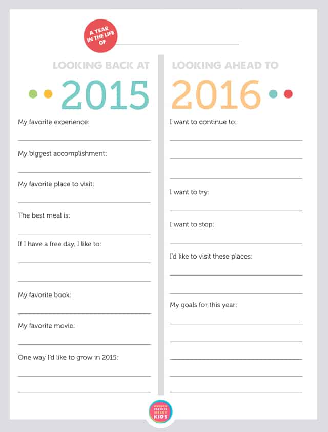 family new year resolutions printable via modern parents messy kids
