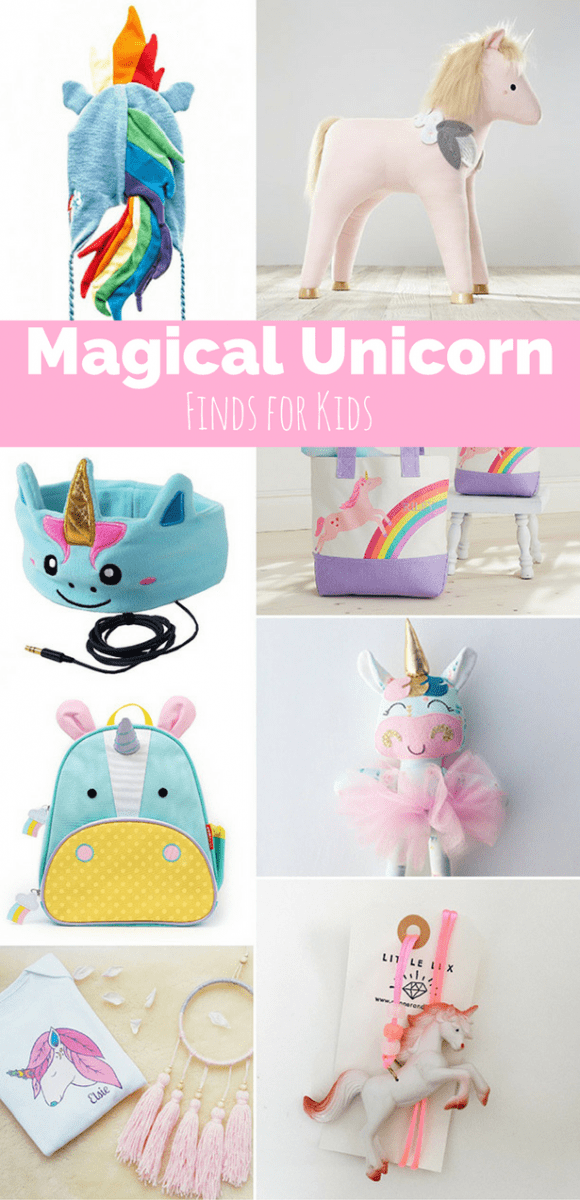 8 Magical Unicorn Toys And Finds For Kids
