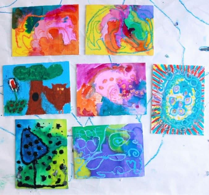 picturi de copii