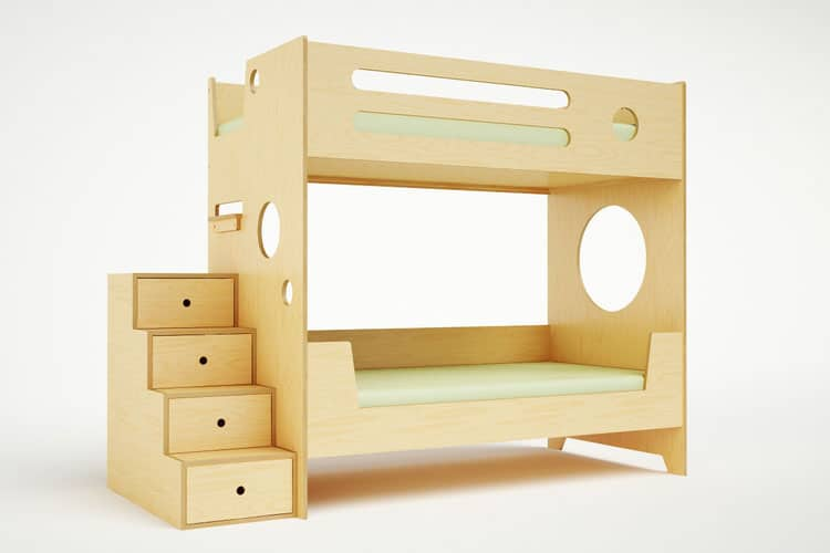 Compact Bunk Beds hello, wonderful - 10 modern kids' bunk beds