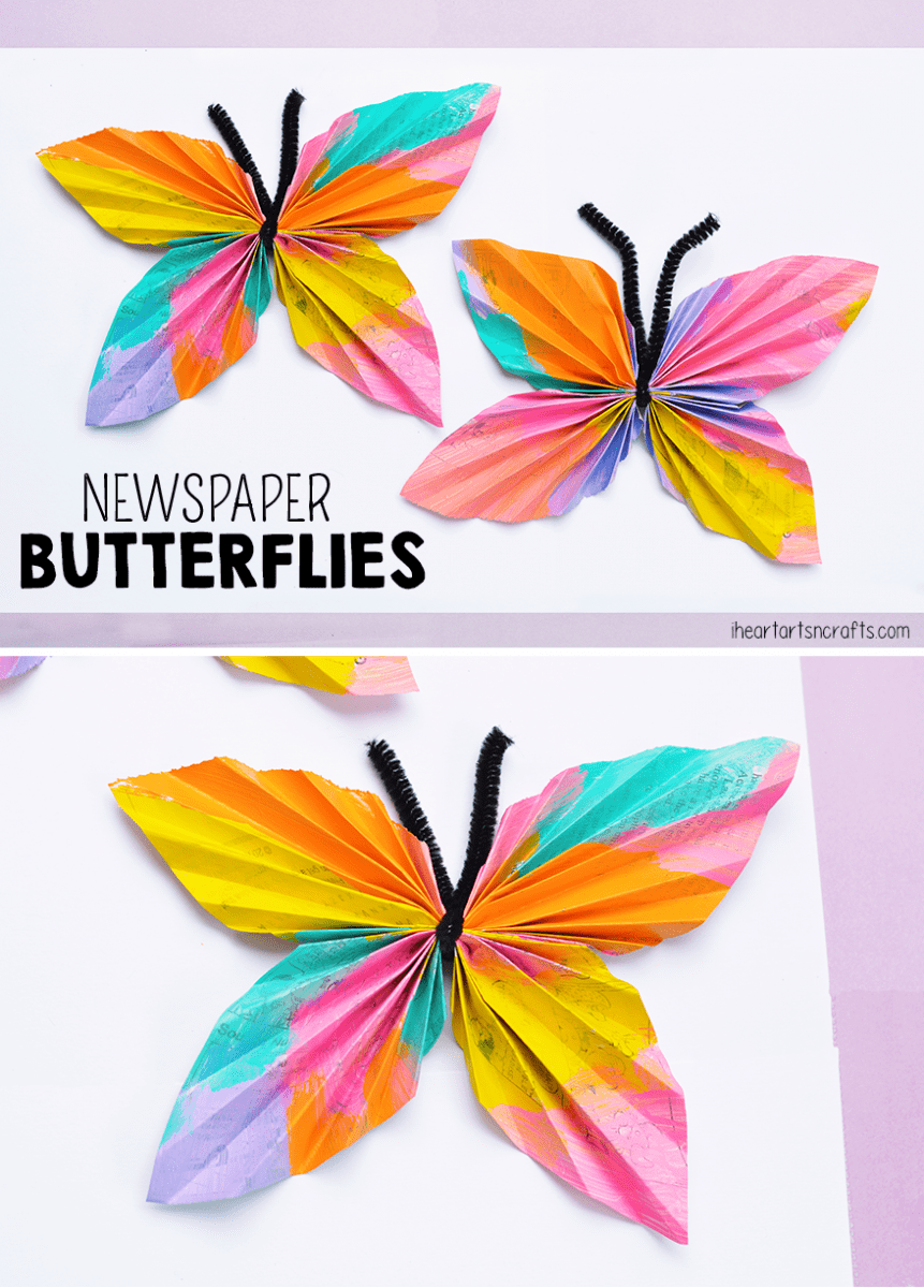Uncategorized Butterfly Images For Kids hello wonderful 13 colorful butterfly crafts for kids melted crayon butterflies via art bar blog