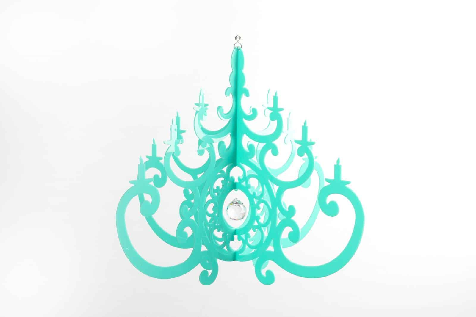 BRIGHT AND COLORFUL CHANDELIER DESIGNS FOR THE KIDS ROOM OR PARTIES