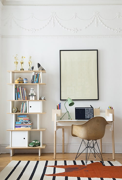 Everything Brooklyn-based children's furniture and designer Oeuf makes is  perfection for the modern kids' home so it's no surprise their first desk,  ...