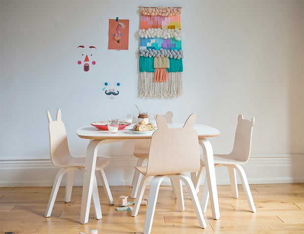 ... For Kids Offering Anywhere From Chic Baby And Toddler Wear To Their  Contemporary Furniture For Kids, Like This Whimsical Animal Chair And Table  Set.