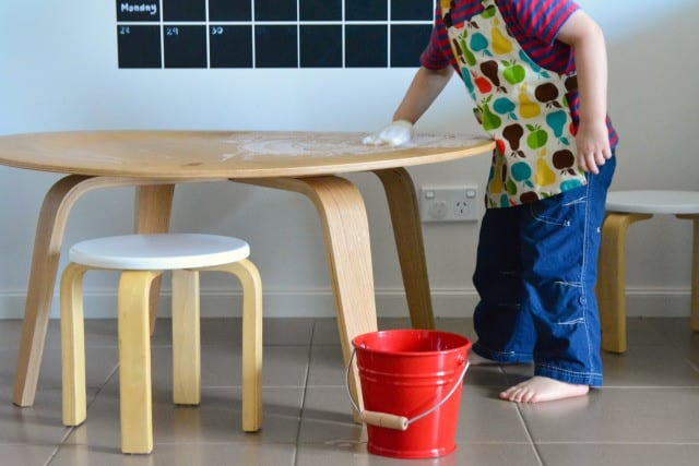 MONTESSORI HOME TOOLS FOR YOUNG CHILDREN