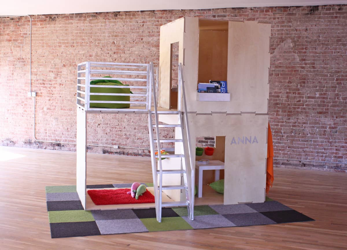 Play modern contemporary eco friendly playhouses for Modern house roleplay