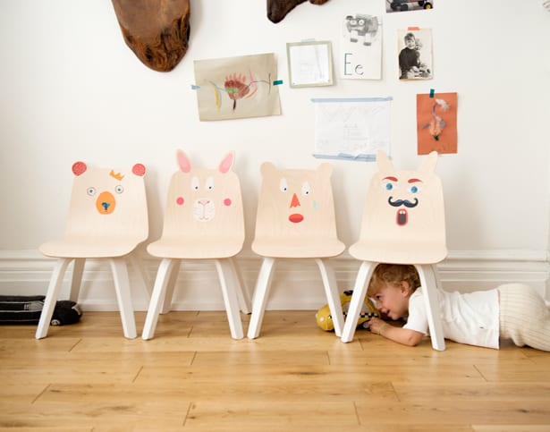 Attractive Whatu0027s Neat Is That Kids Can Become Their Own Mini Designers With By  Personalizing The Chairs With Adorable Bunny And Bear Play Stickers.