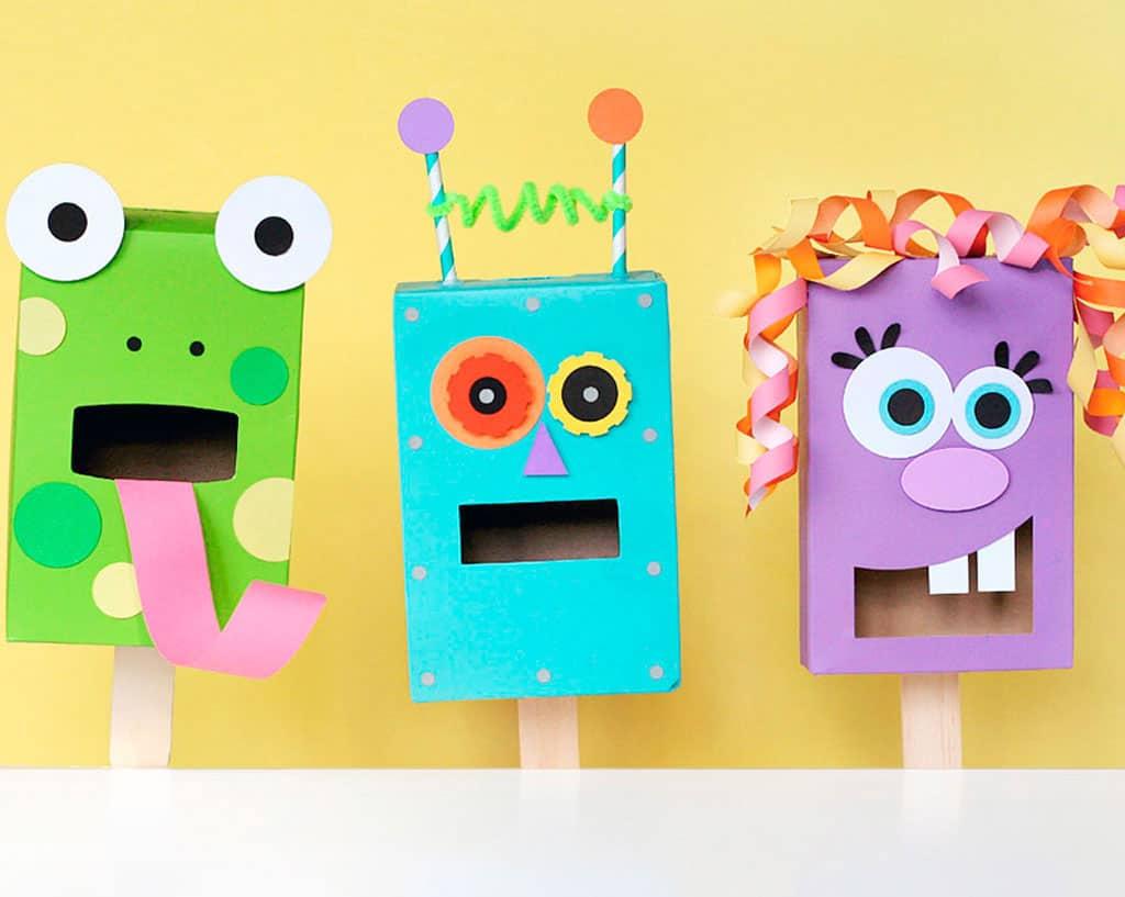 6 Amusing Diy Puppet Crafts