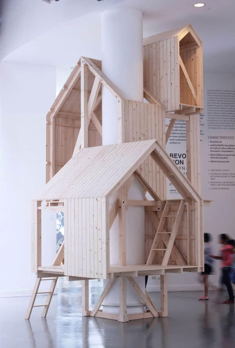 Indoor Tree House
