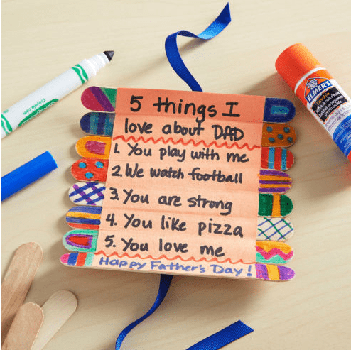 15 Crafty Father S Day Gifts From Kids Dad Will Love