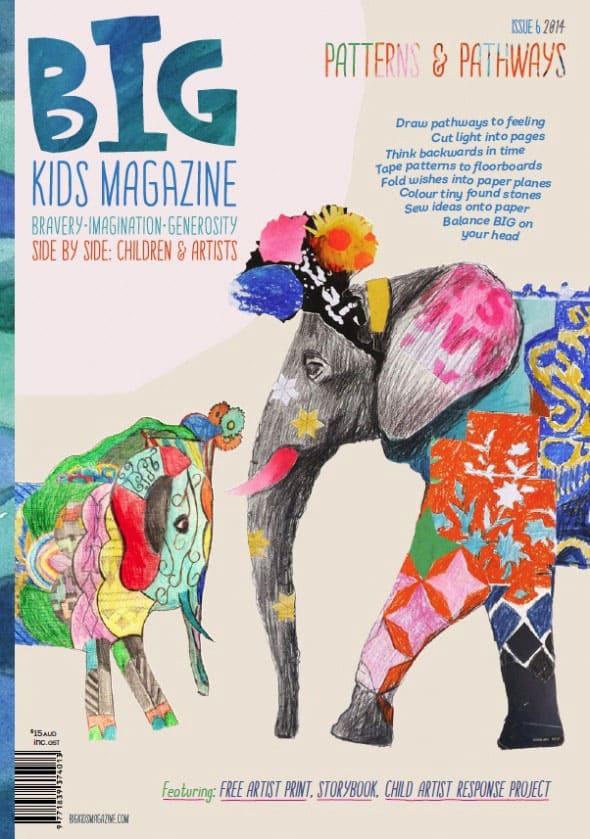 Big Kids Magazine Art For Kids And Grown Ups