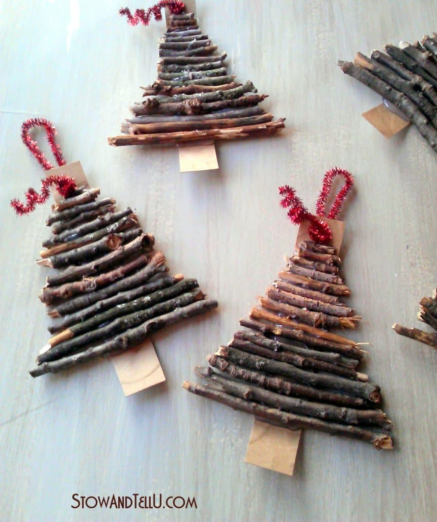 Lovely 10 RUSTIC HOLIDAY DECORATIONS KIDS CAN MAKE