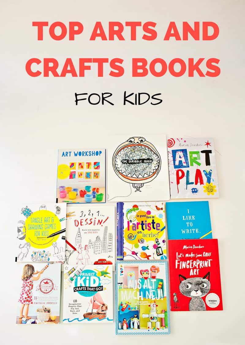 top arts and crafts books for kids holiday gift guide