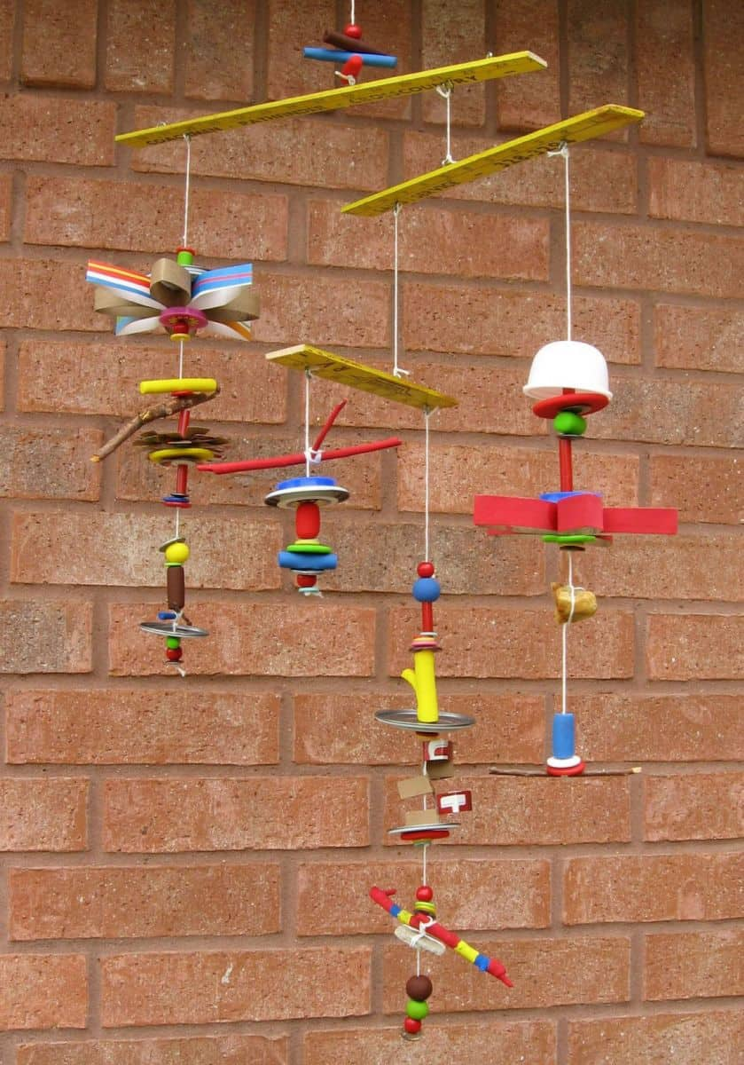 10 unique recycled crafts for kids for Projects made out of recycled items