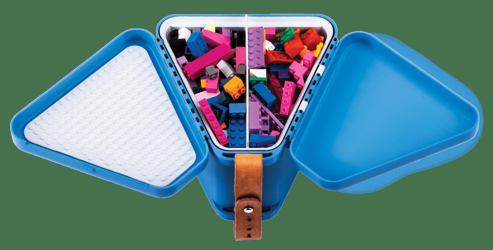 NEW Teebee Teebee Toy Box Blue